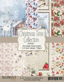 RPP021 Reprint  Collection 6x6 Inch Paper Pack Christmas