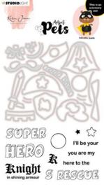 KJ-MBKJ-SCD07 Stamp & Cutting Die Missees By Karin Joan