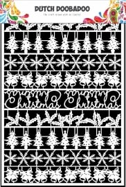 472.948.043 Laser Paper Art A5 wit Christmas