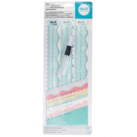 660082 We R Memory Keepers • Tear guides tool rulers