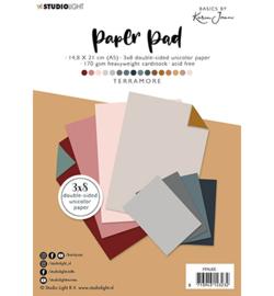 PPKJ05  Paper Pad Pattern Paper Terramore Basics by Karin Joan