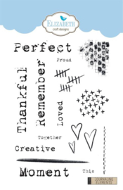 CS156 ECD Clearstamps Journaling Elements