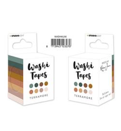 WASHIKJ06 Washi Tape Blissful Pastels Basics by Karin