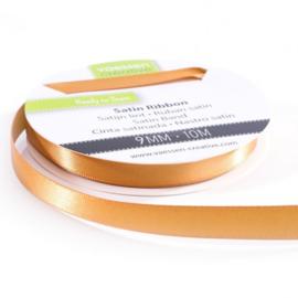 301002-2021 Vaessen Creative satijnlint dubbel 9mm - 10m goud