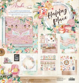 MP-60498 Memory Place Happy Place 12x12 Inch Paper Pack
