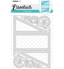 STENCILSL399 Cutting Die Cardshape Twisted gate Essentials