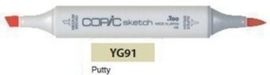 YG91 Copic Sketch Marker Putty