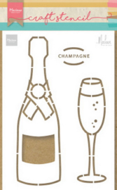 PS8051 Craft Stencil Champagne