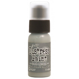 15TDD38559 Tim Holtz distress paint Iced Spruce