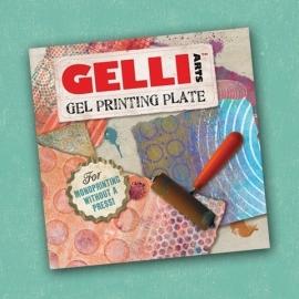 "Gelli Arts Printing Plate Vierkant 6""x6"""