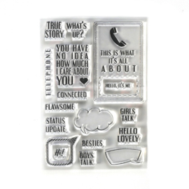 CS195 ECD Phone Booth Special Stamps