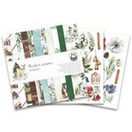 P13-WIN-09Piatek13 - Paper pad The Four Seasons - Winter, 6x6