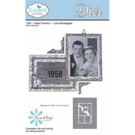 1061 Fitted Frames 1 Lace Rectangles