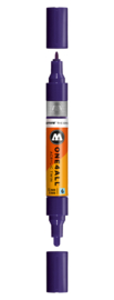 043 ONE4ALL Acrylic twin marker Violet dark