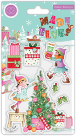CCSTMP069 Craft Consortium Made by Elves Tree Clear Stamps