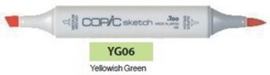YG06 Copic Sketch Marker Yellowish Green