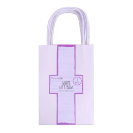 DCBS232 Dovecraft Essentials White Gift Bags (5pcs)
