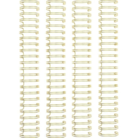"""660504 We R Memory Keepers • cinch wires 1"""" 4 pk gold"""