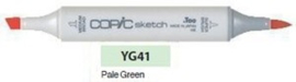 YG41 Copic Sketch Marker Pale Cobalt Green