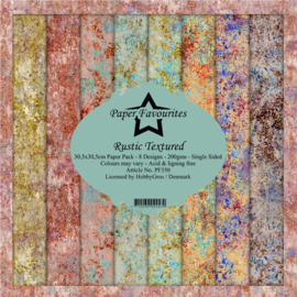 PF350 Paper Favourites Rustic Textured 12x12 Inch Paper Pack