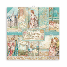 SBBXS01 Stamperia Sleeping Beauty 6x6 Inch Paper Pack