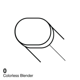 0 Copic Sketch Marker Colorless Blender