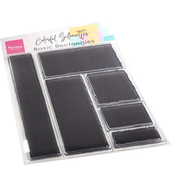 CS1082 Clear Stamp Basic Rectangles