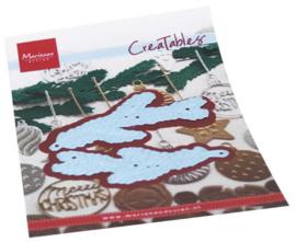 LR0683 Creatables stencil Pine branch set