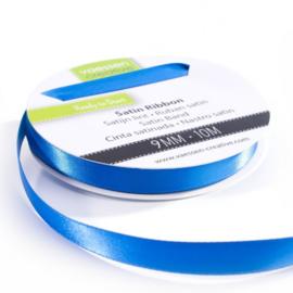 301002-2013 Vaessen Creative satijnlint dubbel 9mm - 10m blauw