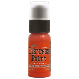 15TDD36296 Tim Holtz distress paint barn door