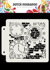 470.715.154 Mask Art Grunge Clocks