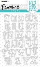 SL-ES-CD78 Studio Light Cutting Die Essentials Alfabet