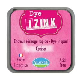 19257 Aladine Inkpad Izink Dye Fuchsia Cerise