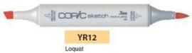 YR12 Copic Sketch Marker Loquat