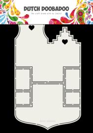 470.713.701 Fold Card Art Small houses