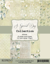 RPP036 Reprint  Collection 6x6 Inch Paper Pack A Special Day