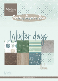 PK9164  Pretty Papers - Winter days by Marleen