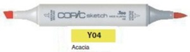 Y04 Copic Sketch Marker Acacia