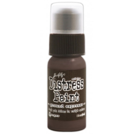 15TDD43638 Tim Holtz distress paint ground espresso