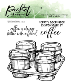 BB-145 Picket Fence Studios Sponsored by Coffee Clear Stamps