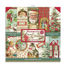 SBBS17 Stamperia - 20 x 20 cm - Classic Christmas