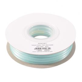 301002-5011 Vaessen Creative • Satijnlint dubbel 3 mm 100m Aqua