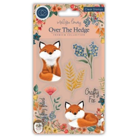 CCSTMP017 Craft Consortium Henry the Fox Clear Stamps