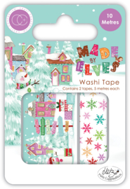 CCWTPE013 Craft Consortium Made by Elves Washi Tape