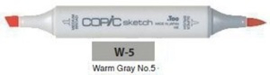 W5 Copic Sketch Marker Warm Gray no.5