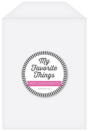 SUPPLY-3001 My Favorite Things Clear Storage Pockets Large