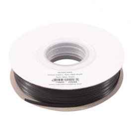 301002-5004 Vaessen Creative • Satijnlint dubbel 3 mm 100m Zwart