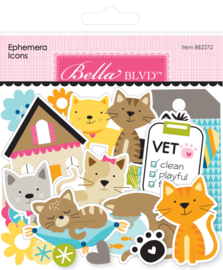 BB2272 Bella BLVD Chloe Ephemera Icons (103pcs)