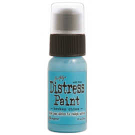 15TDD36319 Tim Holtz distress paint broken china