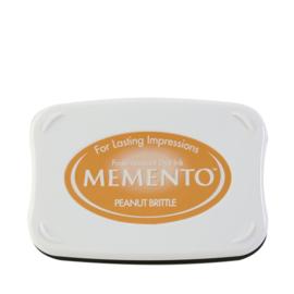 ME-000-802 Memento Ink Pad Peanut Brittle